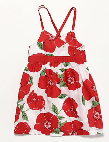 드레스 플로럴,여름 면 민소매
