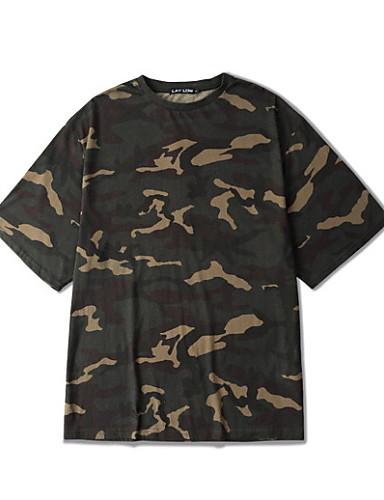 Majica s rukavima Muškarci Ležerno/za svaki dan Print Kratkih rukava Pamuk