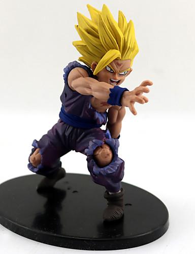 povoljno Anime cosplay-Anime Akcijske figure Inspirirana Dragon Ball Son Gohan PVC 12 cm CM Model Igračke Doll igračkama