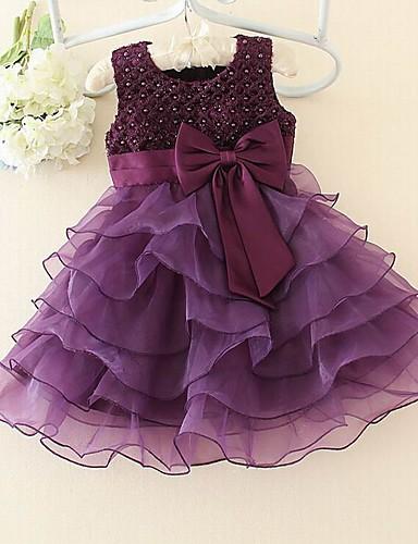 שמלה פרחוני אקריליק כל העונות אפור הילדה של