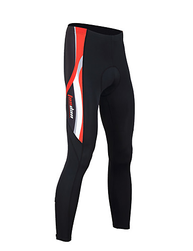cheap Cycling Clothing-TASDAN Men's Cycling Tights Bike Tights Pants Bottoms Breathable 3D Pad Quick Dry Sports Solid Color Winter Black / Red / Black / Blue Road Bike Cycling Clothing Apparel Relaxed Fit Bike Wear
