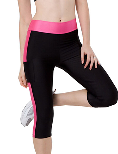 Dünn - Dehnbar - Sport - Damen-Hosen (Polyester)