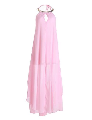 Платье - Макси - Шифон - На каждый день/Для вечеринки