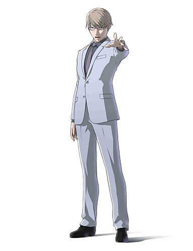 levne Cosplay a kostýmy-Inspirovaný Ajin Tosaki Anime Cosplay kostýmy japonština Cosplay šaty Jednobarevné Dlouhý rukáv Kabát / Tričko / Kalhoty Pro Pánské / Dámské