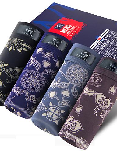 SHINO® Katoen / Bamboekoolstof Boxer shorts 4 / doos-F015-B