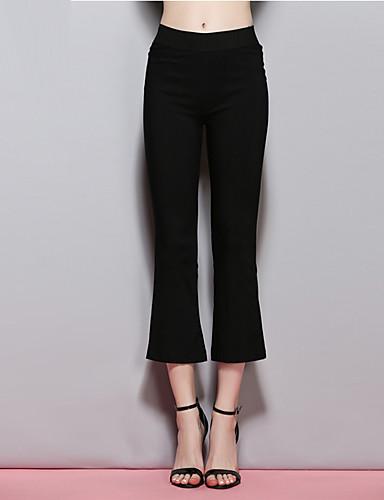 sybel kvinders massive sorte chinos bukser, street chic