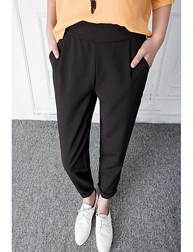 Kvinders Simpel Chinos Bukser Uelastisk Rayon