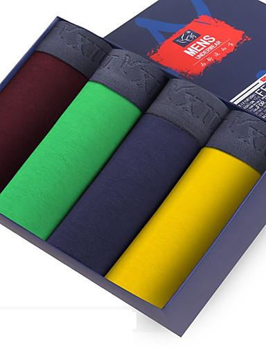 SHINO® Puuvilla / Bambuhiilikuitu Retroshortsit 4 / laatikko-F005-G