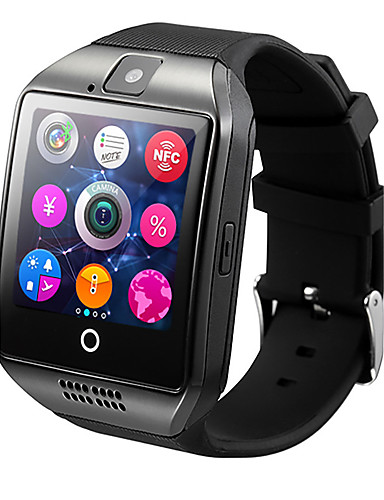 cheap Consumer Electronics Clearance Deals-Q18 Men Smartwatch Android iOS 3G Bluetooth Waterproof Heart Rate Monitor Hands-Free Calls Video Camera Timer Stopwatch Sleep Tracker Find My Device Alarm Clock / Community Share / 128MB