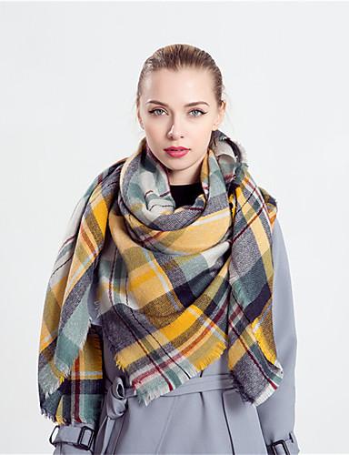 Damen Retro Rechteck Verziert / Gelb / Frühling / Herbst / Winter