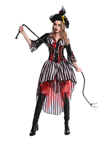billige Halloween- og karnevalkostymer-Film & Tv Kostymer Cosplay Kostumer Party-kostyme Maskerade Dame Halloween Festival / høytid Terylene Drakter Lapper