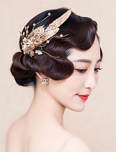 Uma Camada Corte da borda Véus de Noiva Peça para Cabeça com Véu Com Purpurina Cintilante