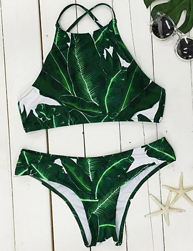 Dame Grime Bikini - Trykt mønster