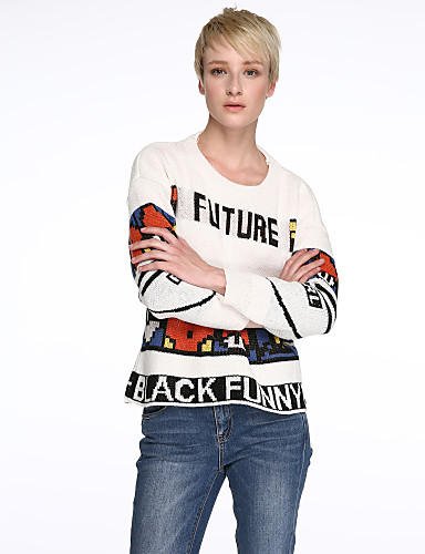 Women's Long Sleeve Pullover Print / Fall