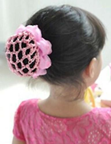 Para Meninas Acessórios de Cabelo Todas as Estações Pinças e Prendedores de Cabelo - Rosa