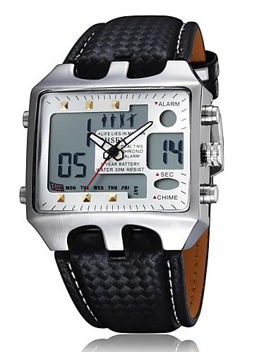 Pánské Sportovní hodinky Vojenské hodinky Náramkové hodinky Křemenný  Digitální Vícebarevný 50 m Žhavá sleva Analog - 5b5dcd265b