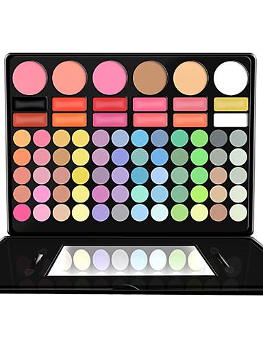 abordables Make-up For You-Make-up For You 78 colores Sombras de Ojos / Polvos Ojo Mate / Brillo / Brillante / ahumado Maquillaje de Halloween / Maquillaje de Fiesta Maquillaje Cosmético