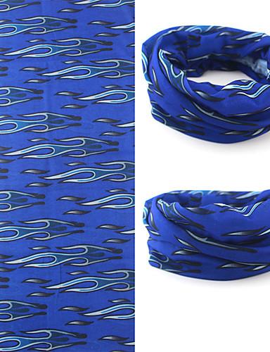 billige Hatter, capser og hodetørklær-Ansiktsmaske Brand Hode Marineblå Krystall Pustende Bekvem Solkrem Sykling / Sykkel Unisex Polyester