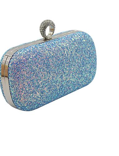 d7f51e0dcf7 Dámské Tašky PU Taška přes rameno pro Večírek Vodní modrá   Šampaňská    Černá