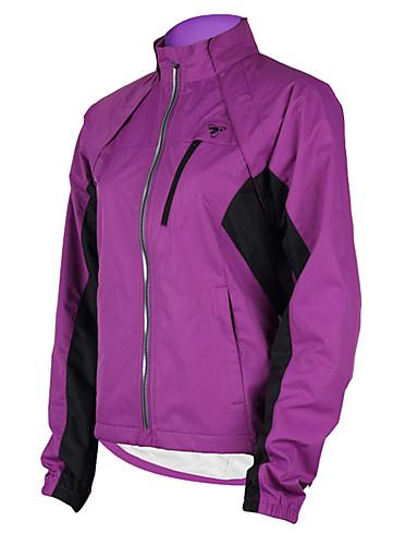 cheap Cycling Clothing-TASDAN Women's Cycling Jacket Bike Jacket Windbreaker Top Waterproof Windproof Breathable Sports Winter Purple / Yellow / Pink Mountain Bike MTB Road Bike Cycling Clothing Apparel Relaxed Fit Bike