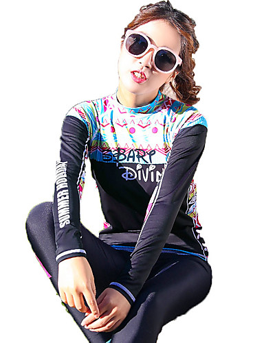 17392526b5 SBART Women's Elastane SPF50 UV Sun Protection Quick Dry Long Sleeve  Swimming Surfing Fashion Spring Summer Fall