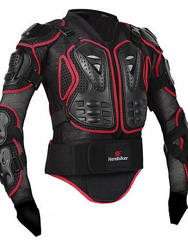 ieftine Consumer Electronics Special Deals-herobiker motocicletă jacheta corp complet armura jacheta coloanei vertebrale piept unelte de protecție motorcross curse moto protecție