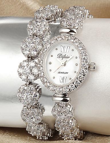 voordelige Armband Horloge-Dames Modieus horloge Kwarts Legering Band Zilver