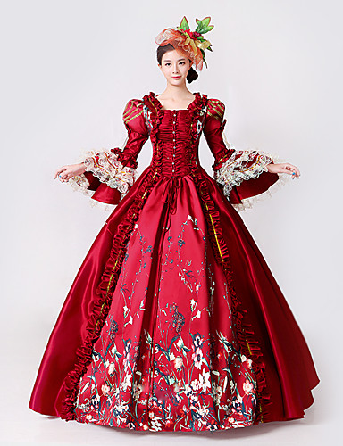 bc41ee92ecc Princess Goddess Dress Cosplay Costume Masquerade Ball Gown Women s Rococo Medieval  Renaissance Party Prom Christmas Halloween Carnival Festival   Holiday ...