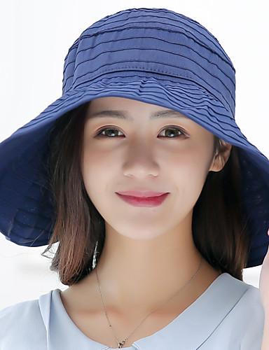 قبعة شمسية سادة عطلة للمرأة