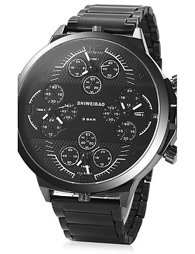 Homens Adolescente Único Criativo relógio Relógio de Pulso Bracele Relógio Relógio Militar Relógio Elegante Relógio de Moda Relógio