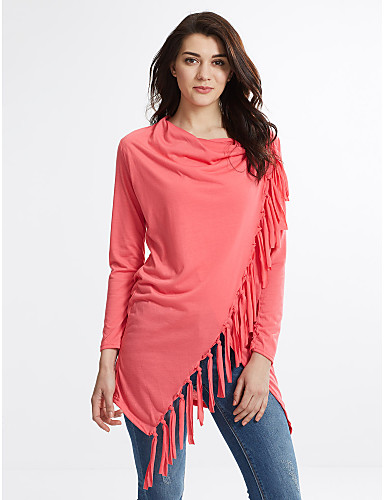 Nikki Women's Solid Colored Tops & Blouses