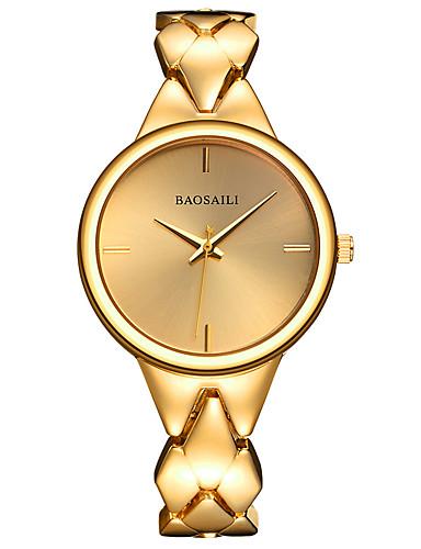 Mulheres Bracele Relógio / Relógio de Pulso Venda imperdível Lega Banda Amuleto Prata / Dourada / Ouro Rose / Dois anos / Sony SR626SW