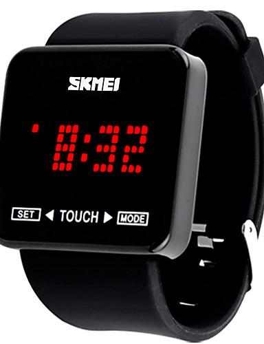 Homens Relógio Esportivo / Relógio inteligente / Relógio de Pulso Chinês Cronógrafo / Criativo / Legal Silicone Banda Amuleto / Fashion /