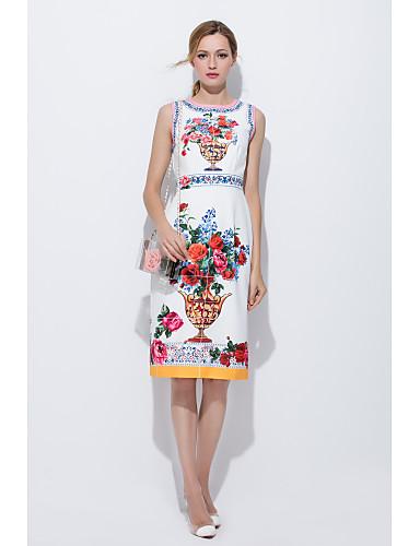 Damen A-Linie Kleid - Druck, Spezial Design