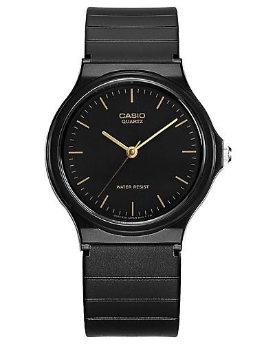 Casio Pánské Pro páry Sportovní hodinky Módní hodinky Náramkové hodinky japonština Křemenný Voděodolné Pryž Kapela Cool Běžné nošení Černá