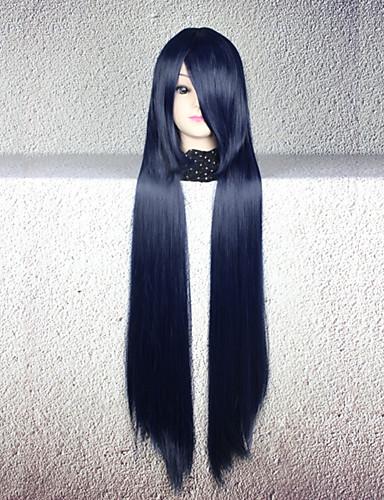 voordelige Cosplay Pruiken-Cosplay Cosplay Cosplaypruiken Heren Dames 32 inch(es) Hittebestendige vezel Int Blauw Anime