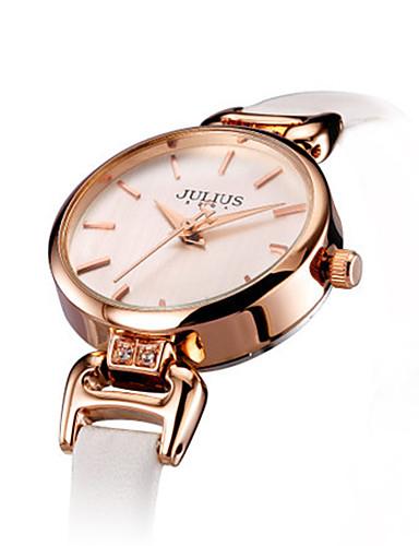 Dámské Módní hodinky japonština Křemenný Voděodolné Kůže Kapela Na běžné nošení Černá Bílá Modrá Zlatá