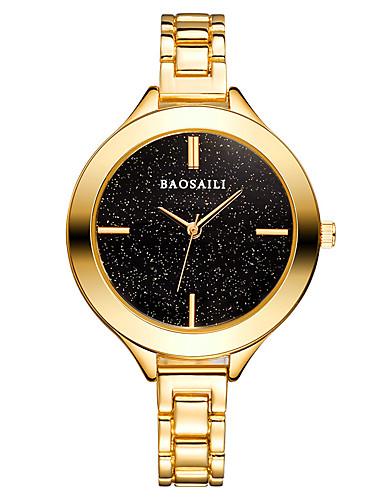 Dámské Hodinky k šatům Módní hodinky japonština Japonské Quartz Slitina Kapela Na běžné nošení Stříbro Zlatá Růžové zlato