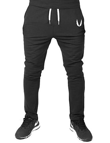 Pánské Aktivní Mikro elastické Kalhoty chinos Kalhoty Volné Mid Rise