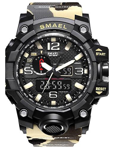 Casal Quartzo Digital Relogio digital Único Criativo relógio Relógio de Pulso Bracele Relógio Relógio Militar Relógio Esportivo Japanês