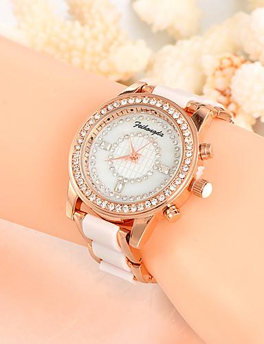 Dámské Unikátní Creative hodinky Hodinky na běžné nošení Módní hodinky Náramkové hodinky Křemenný Slitina Plastic Kapela Přívěšky Luxus