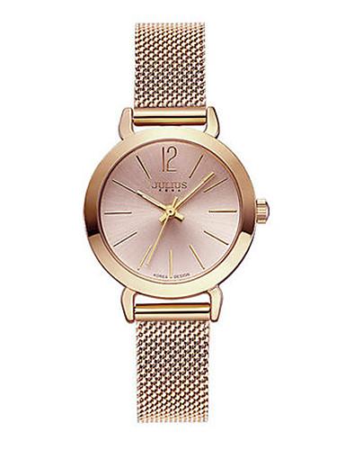 Dámské Módní hodinky japonština Křemenný Voděodolné Slitina Kapela Na běžné nošení Stříbro Zlatá Růžové zlato