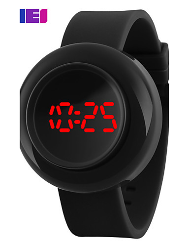 Mulheres Relógio Esportivo Relógio inteligente Relógio de Pulso Digital 50 m Cronógrafo Criativo Legal Silicone Banda Digital Amuleto Fashion Relógio Elegante Cores Múltiplas - Azul Claro Azul Escuro