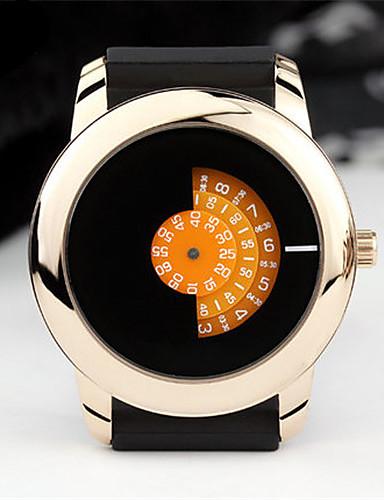 Pánské Módní hodinky Křemenný Voděodolné Kůže Kapela Černá