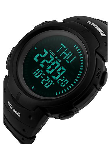 Homens Digital Único Criativo relógio Relógio de Pulso Relógio inteligente Relógio Esportivo Chinês Calendário Cronógrafo Régua