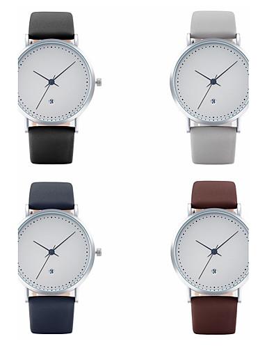 Mulheres Relógio de Pulso Relógio de Moda Relógio Casual Chinês Quartzo Calendário PU Banda Casual Elegant Legal Preta Azul Cinza