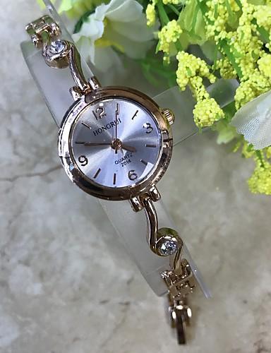 Dámské Náramkové hodinky Maketa Diamant Hodiny čínština Křemenný / imitace Diamond Slitina Kapela Běžné nošení Růžové zlato