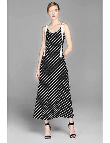 Women's Holiday Going out Daily Simple Street chic Sheath Swing Dress