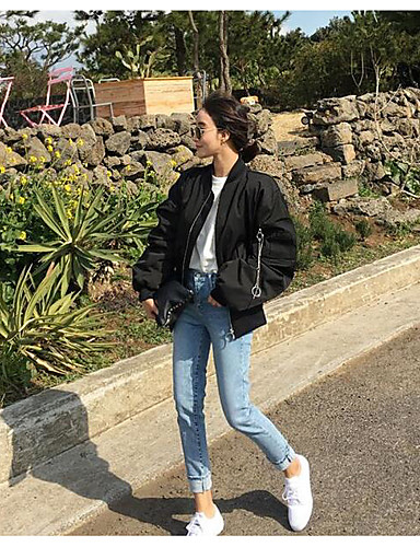 Women's Sports Going out Daily Casual Spring/Fall Jacket