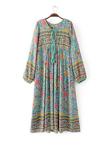 Women's Going out Daily Boho Loose Swing Dress